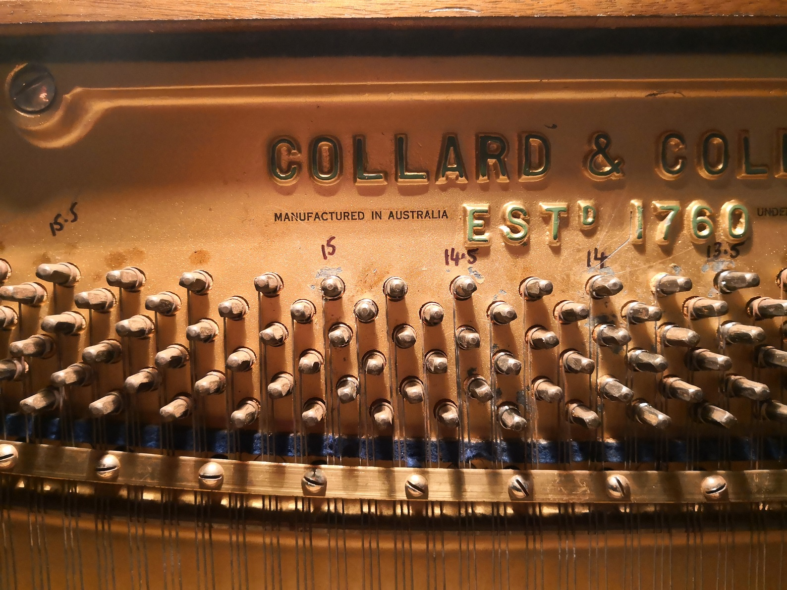 Collard and Collard Auburn Pianos Tuning Sydney